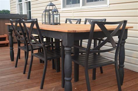 outdoor farm table by jma213 lumberjocks