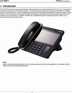 Ericsson Lg Enterprise Lip9071 Ip Gigabit Video Phone User