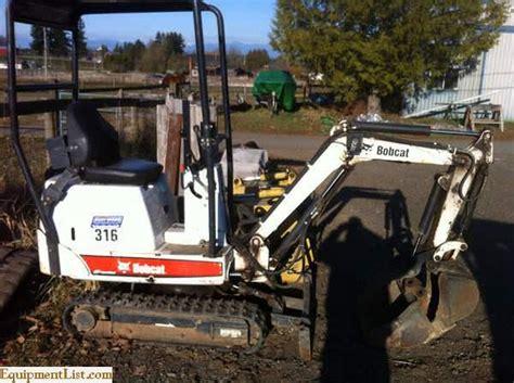bobcat  mini excavator  sale classifieds equipment list