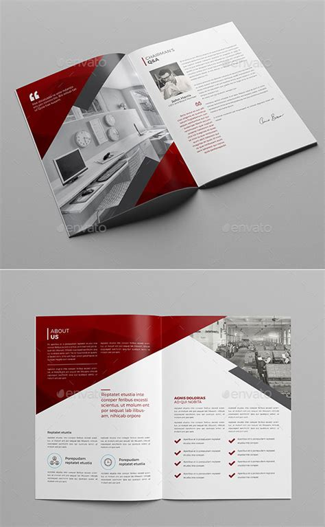 You can find our terms of use here. 30 Awesome Company Profile Design Templates - Bashooka