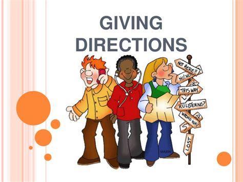 Asking Giving Directions Giving Directions Presentation Oseiasa Modelo