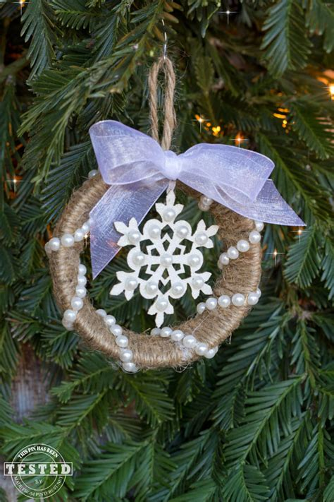 mason jar ring ornament tgif  grandma  fun