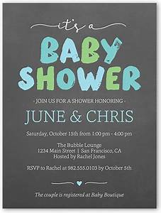 brushed letters boy photo baby shower invitations shutterfly With baby shower invitation letter