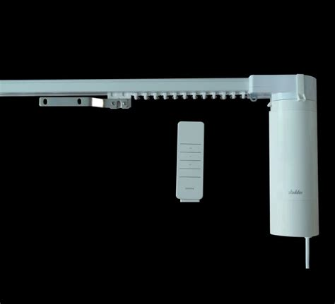 Electric Drapery System by Motorized Curtain System Electric Curtain Track System