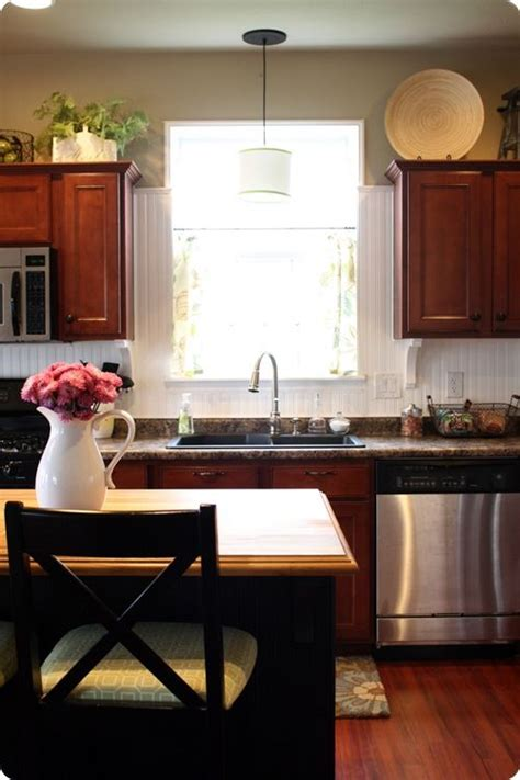 glass cabinets for kitchen best 25 cherry cabinets ideas on cherry 3768