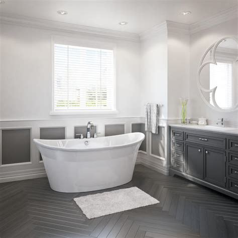 Maax Freestanding Tub by Maax 174 Orchestra Freestanding Bathtub At Menards 174