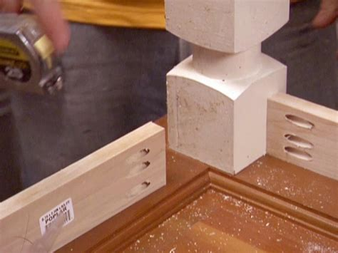 how to attach table top to legs how to build a dining table from an old door and posts hgtv