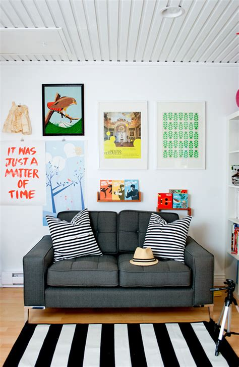wall art above sofa let it be art cool wall displays above the sofa living