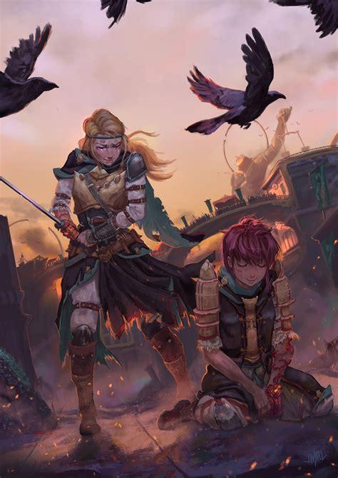 warrior, Sword, Fantasy art HD Wallpapers / Desktop and ...