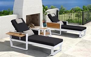 Lounge Liege Garten : baidani alu garten lounge liege leros 2er set baidani shop ~ Watch28wear.com Haus und Dekorationen
