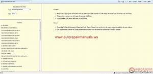 Mitsubishi Pajero 2011 Workshop Manual