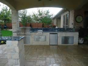 summer kitchen pit eclectic patio houston by collinas design construction