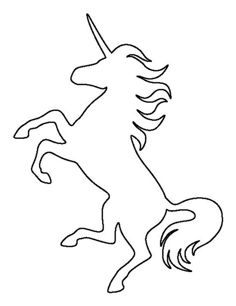 musical baby mat unicorn pattern use the printable outline for crafts