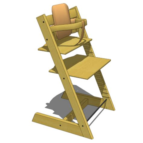 Stokke Tripp Trapp Stol J by Stokke Tripp Trapp Highchair 3d Model Formfonts 3d