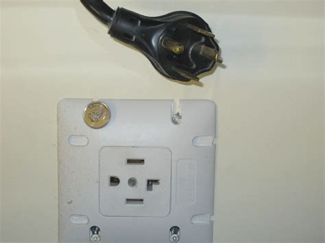 how to wire a 4 prong receptacle for a dryer
