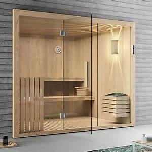 Sauna Mit Glasfront : die besten 25 sauna wellness ideen auf pinterest ~ Whattoseeinmadrid.com Haus und Dekorationen