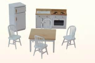 dollhouse furniture kitchen dollhouse kitchen wooden furniture 1 12th scale set ebay