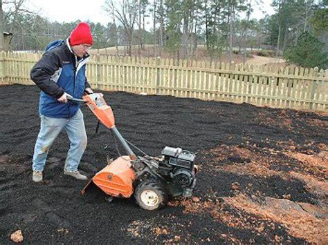 preparing soil   garden diy garden projects