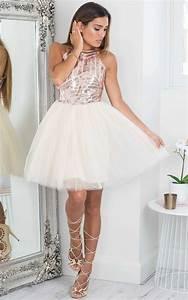 Robe Bal De Promo Courte : 1001 images pour la robe dor e de vos merveilles et comment la porter ~ Nature-et-papiers.com Idées de Décoration