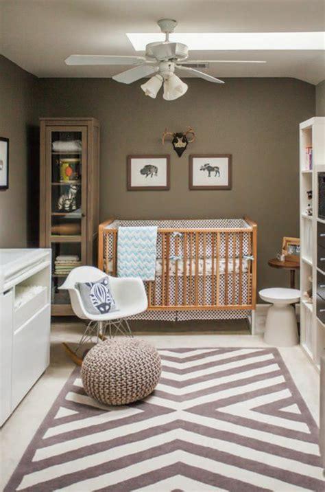 decorer la chambre bebe garcon conseils  exemples