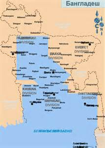 Bangladesh Region Map