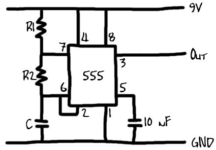 Timer Astable Multivibrator Electrical Engineering