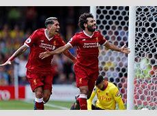Salah, Firmino score but Liverpool held by Watford