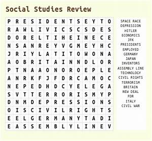 Economic Terms Word Search