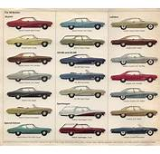 1968 Buick Lineup Pt 1  Car Side Views Pinterest