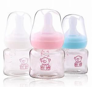 60ML GLASS baby feeding bottle baby Glass milk Bottle for ...