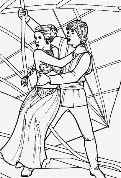 Wars Star Coloring Pages Printable