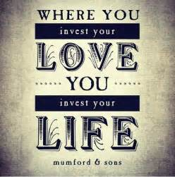 Mumford and Sons Quote