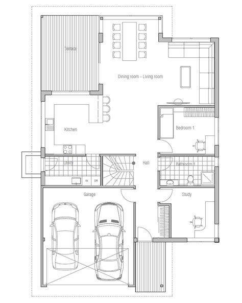 house plans narrow lot contemporary house plans modern house plan to narrow lot