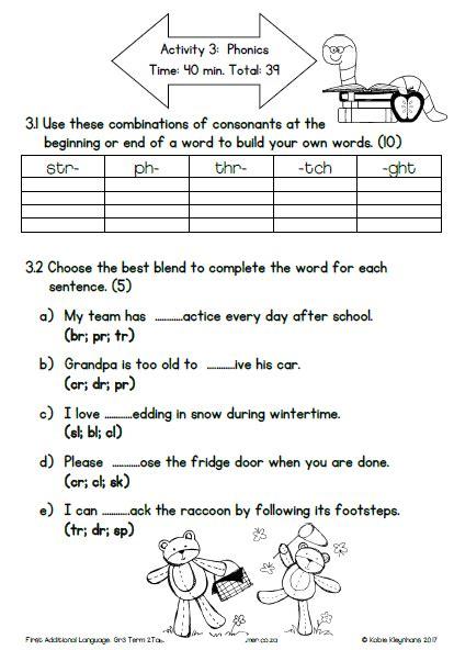 grade 3 first additional language english term 2 task 1 memo assessment plan 2017 187 my
