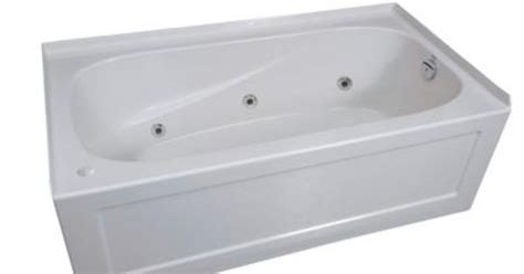 home depot 54x27 bathtub mirolin tucson 2 skirted whirlpool acrylic tub right