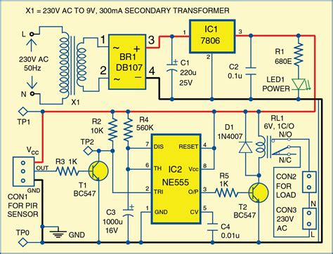 Motion Detector Using Timer Electronics For You