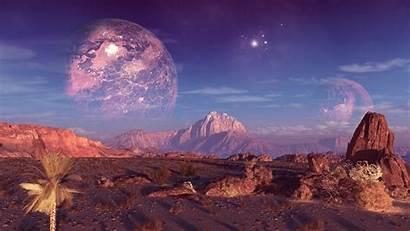 Alien Planet Landscapes Planets Wallpapers Desktop Backgrounds