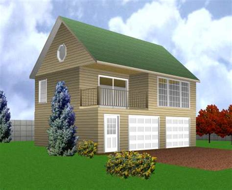Building Garage with Apartment Plans