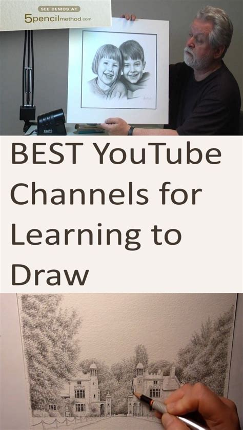 draw  pencils youtube recommended channels