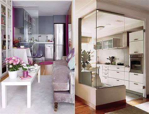 Einrichtung Kleiner Kuechemoderne Kleine Kueche Im Wohnzimmer 3 by Die Komfortable Wohnk 252 Che In Der Kleinen Wohnung Freshouse