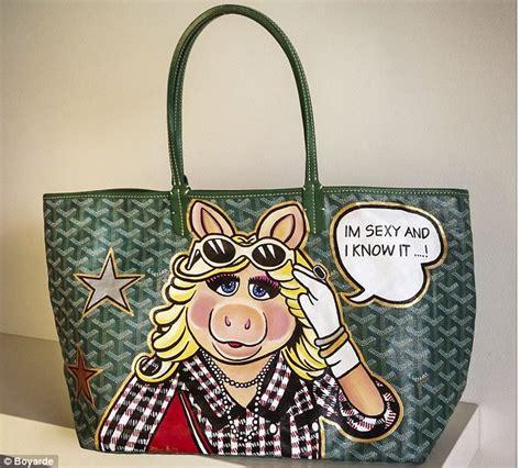 boyarde  artist   designer handbags  goyard