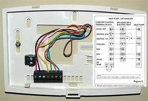 Heat Pump Thermostat Wiring Diagram Honeywell