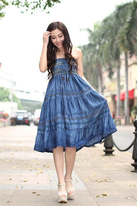 Stylish Dress Trends 2018 Girls Casual Denim Styles u0026 Dresses