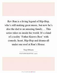 Rev Run is a living legend of Hip-Hop, who's still making ...
