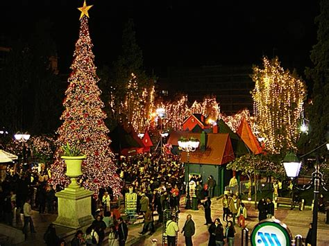 christmas decoration in greece celebrating and new year s in greece protothemanews