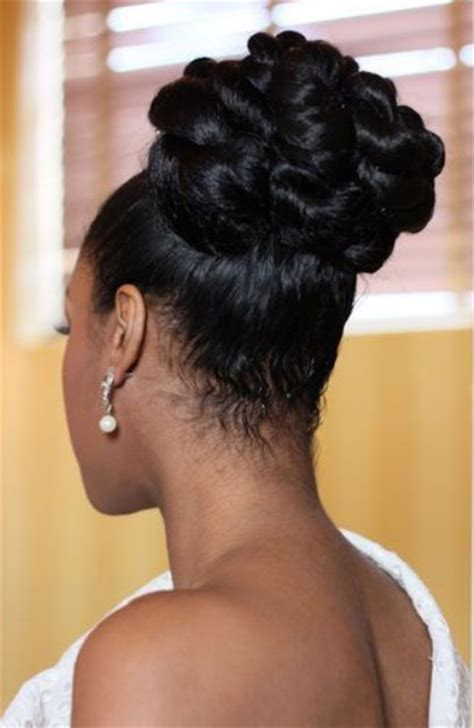 black bridal hairstyles for long hair african american