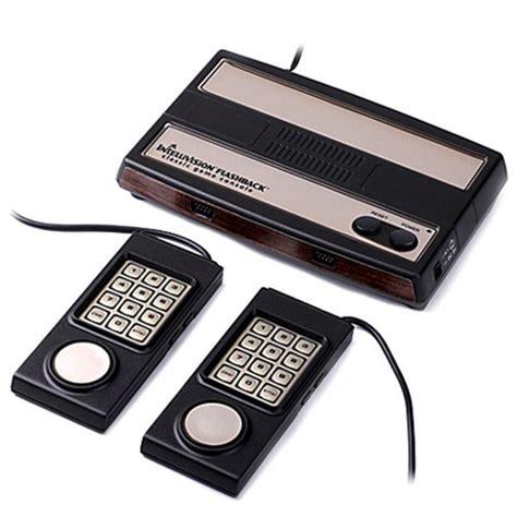 mattel console console mattel intellivision flashback collector edition