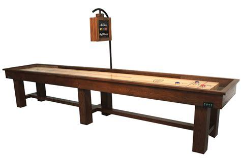 16 foot shuffleboard table 16 foot ponderosa oak shuffleboard table mcclure tables