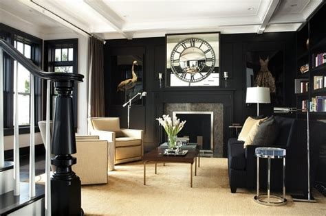 brilliant black  gold living room decor ideas