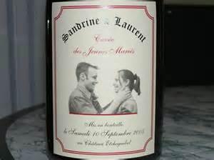 etiquette bouteille mariage des étiquettes personnalisées pour un mariage inoubliable